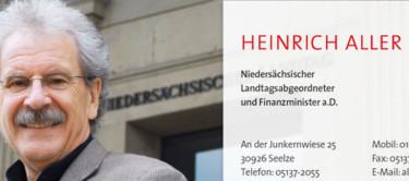 Heinrich Aller - Kontaktdaten