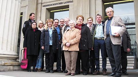 Besuchergruppe