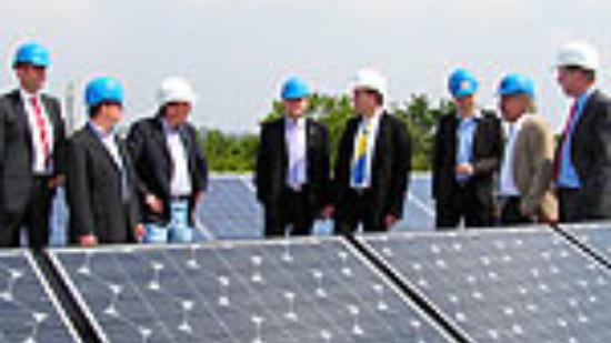 Besuch bei der AS Solar GmbH