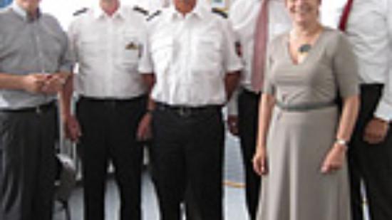 Besuch der Polizeidirektion Hannover