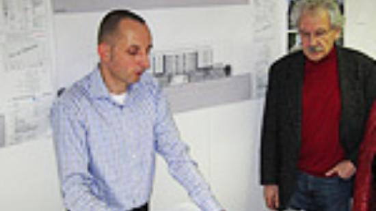 Besuch auf der Großbaustelle Klinikum Mitte
